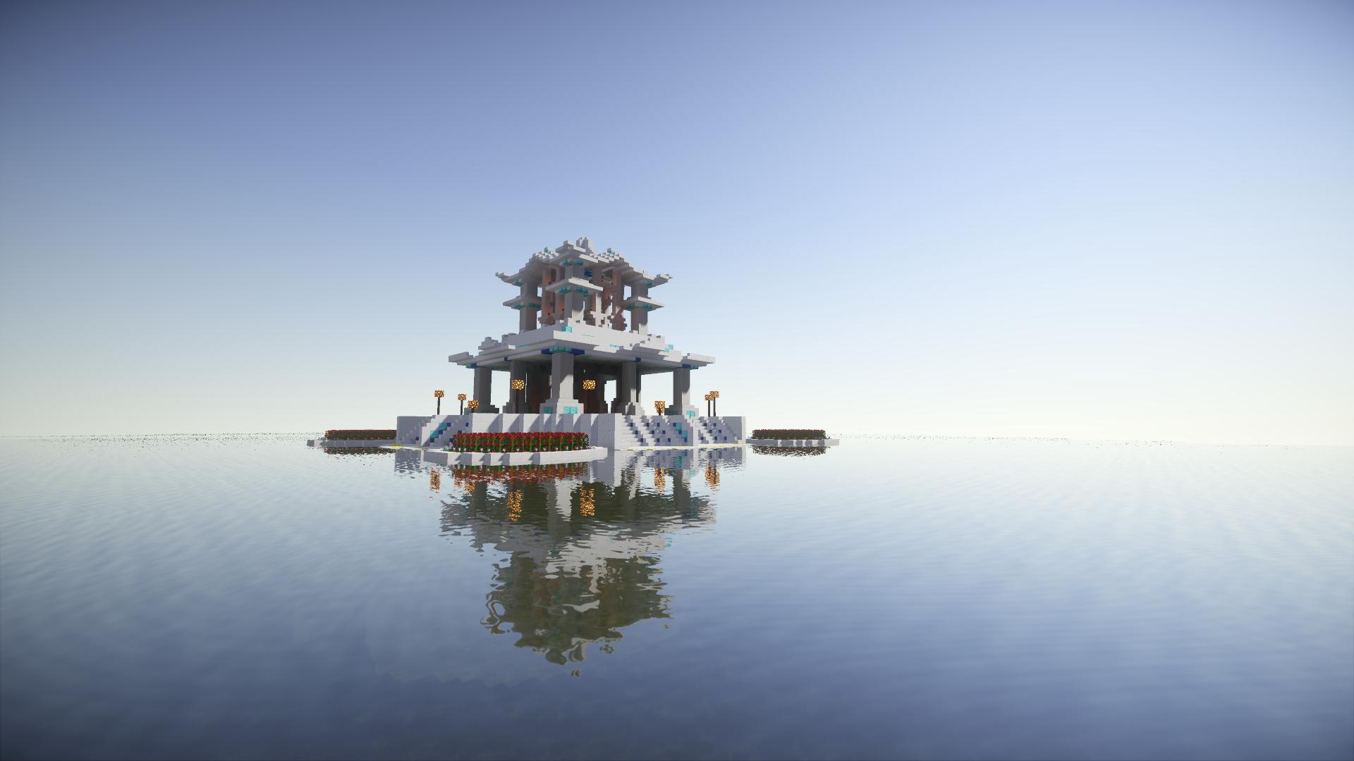 Tempel in der Bauwelt