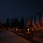 Billund - Mittelalter - Hafen (Nacht)