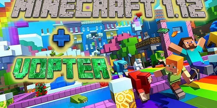 Umstellung auf Minecraft 1.12 und Update von Voter auf Vopter